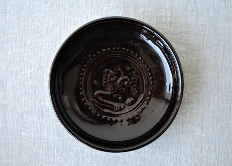 スリップウエア7寸皿_郡司製陶所