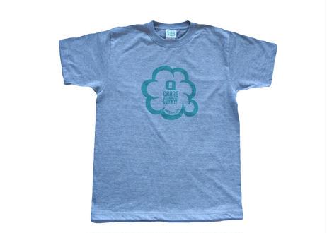 キューチャンカレーteeシャツ(杢グレー)