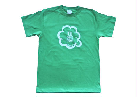 キューチャンカレーteeシャツ(ケリーグリーン)