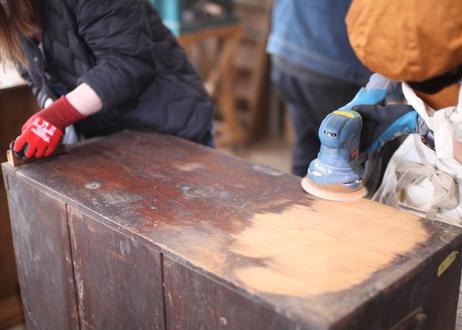 8/9(月・祝) [ランチ付き]古家具をリメイク!たんすキャビネットWS