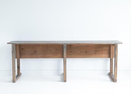 木製ロングデスク