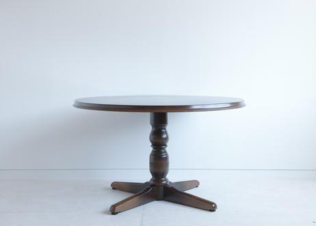 [飛騨産業]大きなまんまるダイニングテーブル
