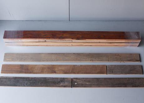 製材古材パッチワーク:幅90mm 厚み15mm 乱尺