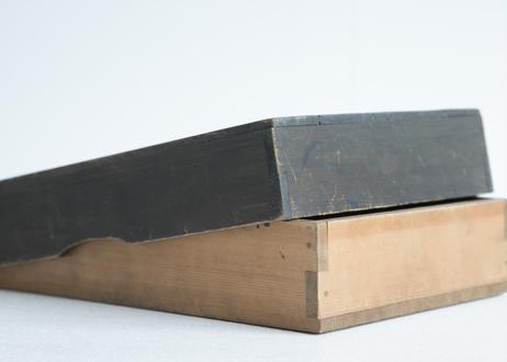2種の木の道具箱