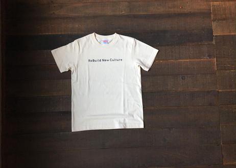 Tシャツ(ReBuild New Cultureモデル)