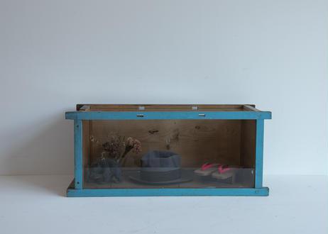 【リペア品】水色ガラスケース