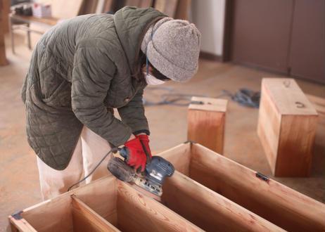 3/8(月)  古家具をリメイク!たんすでキャビネットをつくろうWS(ランチ付き)