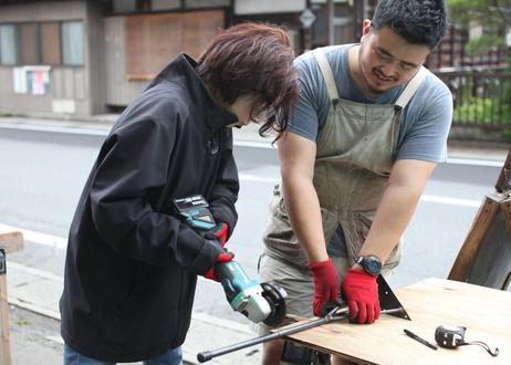 5/16(日) DIY Class <一枚板でテーブルや棚をつくろう>