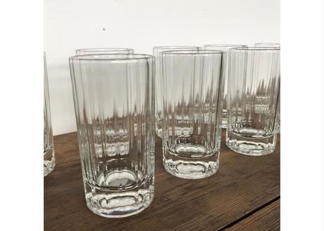 ストライプグラス10個set