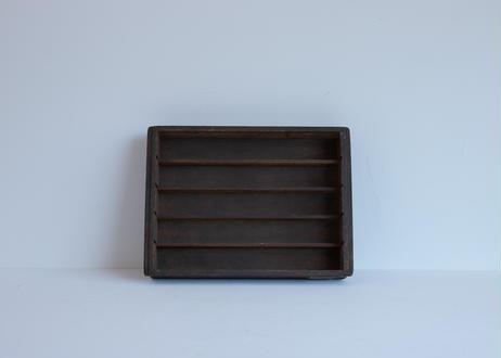 ラベルプレート付き木箱(0606)