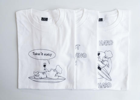 Tシャツ「Take it easy」