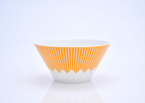 富士山モチーフ カップ(L) オレンジ