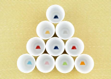 富士山モチーフ カップ(H) 専用GIFT BOX入り 2個セット