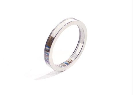 Annulus Bracelet  White   10mm