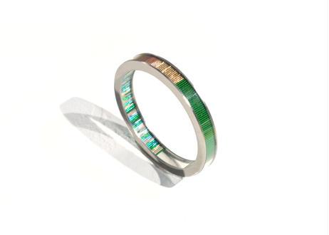 Annulus Bracelet Green 10mm