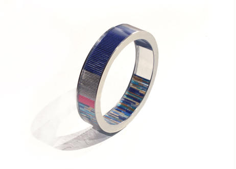 Annulus Bracelet Navy 27mm