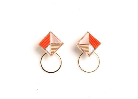 Square  Hoop<Orange>
