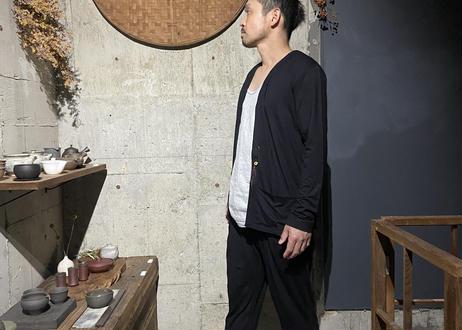 【Thee Trio/ザ・トリオ】KINAGASHI Cardy - BLACK