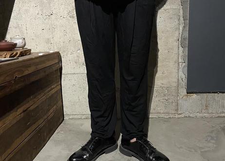 【Thee Trio/ザ・トリオ】別注KINAGASHI Long Pants/キナガシパンツ - BLACK