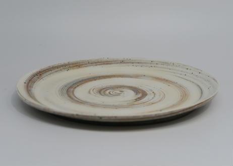 刷毛目平皿 (健太 作)