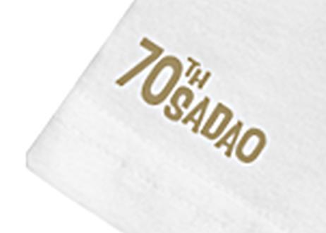 TOMORROWLANDコラボレーション 70周年記念Tシャツ<白>(限定)