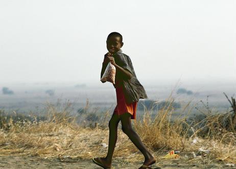 写真パネル<ザンビアの少年>直筆サイン付き 限定50枚
