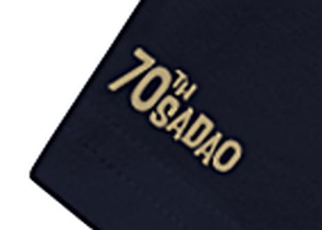 TOMORROWLANDコラボレーション 70周年記念Tシャツ<ダークネイビー>(限定)