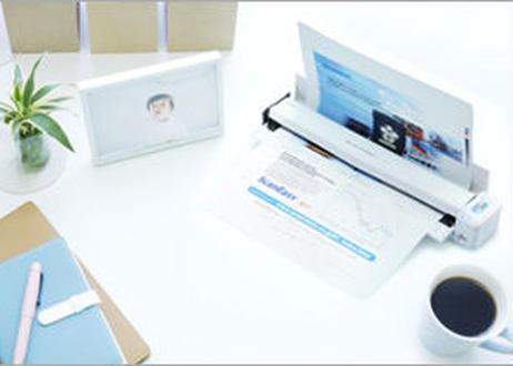 モバイルスキャナ×テレワークScanSnap iX100 (スノーホワイト)