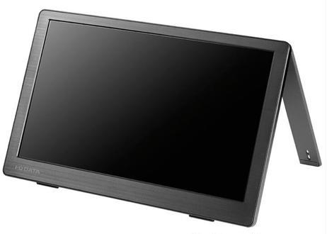 【テレワーク向け】 広視野角ADSパネル採用 13.3型フルHD対応モバイルディスプレイ LCD-CF131XDB-M(アイ・オー・データ機器)