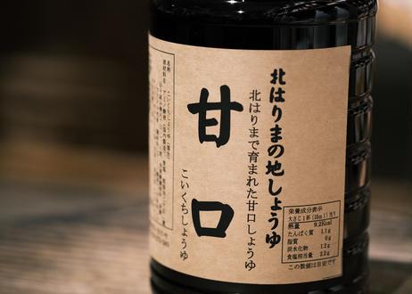 甘口醤油 / 1.8Lペット
