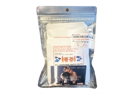 HANNA天然入浴剤【珊瑚岩塩】(バスソルト) 5包パック
