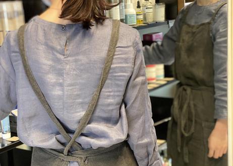 Apron 【Linen100% Limited】