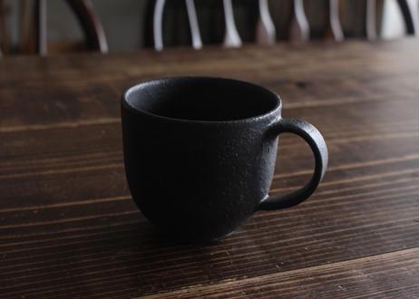 飯高幸作 マグカップ 黒