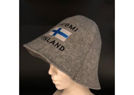 サウナハットフェルト     (フィンランドフラッグ)