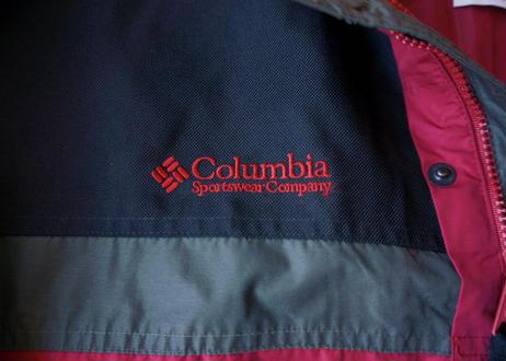 Columbia bugaboo nylon jacket