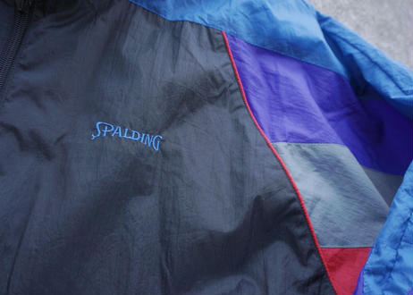 90s Spalding nylon windbreaker