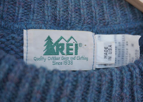 REI wool / nylon sweater