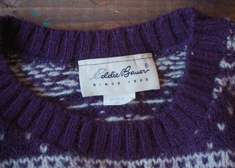 Eddie bauer knit sweater