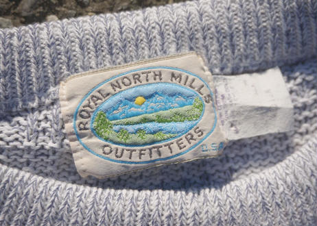 Royal north mills cotton sweater
