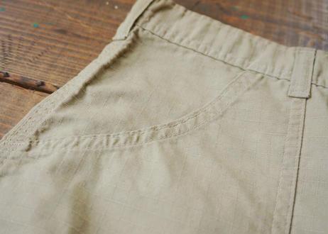 Khaki jungle rip-stop shorts