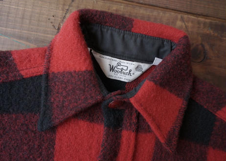 Vintage Woolrich buffalo check wool shirt