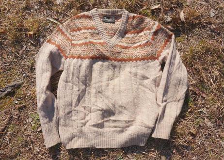 Jantzen nordic knit sweater