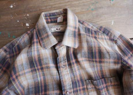 80's Apple bee shirts L/S cotton shirt