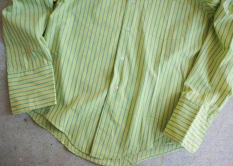 70's Permanent press L/S stripe shirt