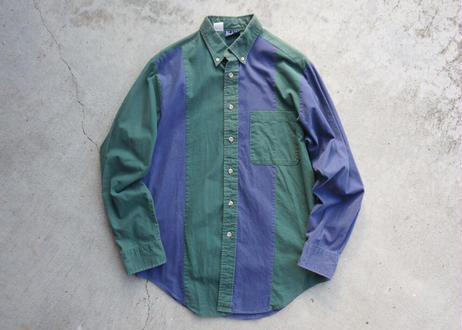 Blair L/S two-tone shirt
