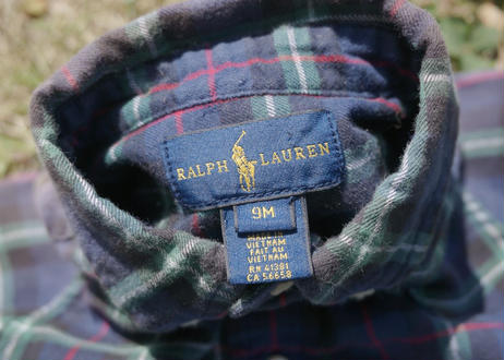 KID's Ralph Lauren L/S shirt