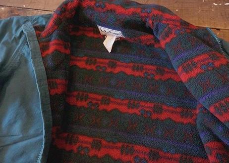 L.L.bean nylon×fleece  jacket