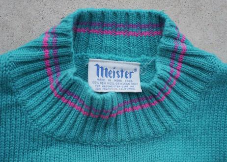 80s Meister wool sweater
