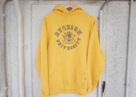 Russell athletic hoodie yellow