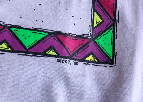 90's Screen star skier tee